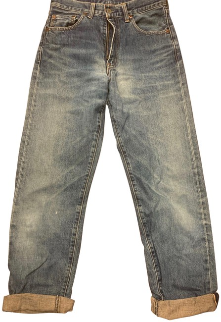 """Item - Blue Vintage 502 """"Big E"""" Relaxed Fit Jeans Size 29 (6, M)"""