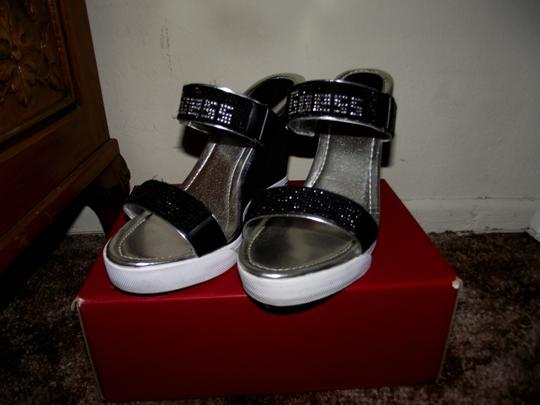 Guess Black Wedges Image 2