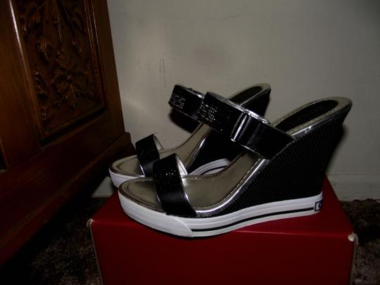 Guess Black Wedges Image 3