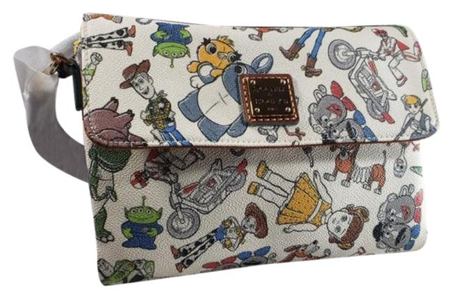 Item - Toy Story 19 Hunter Cream Blue Faux Leather Cross Body Bag
