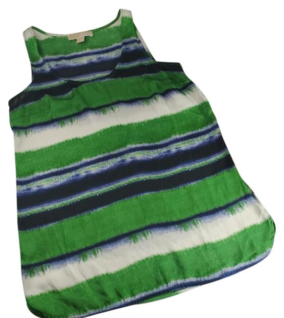 Item - Blue Green Sleeveless And Blouse Size 4 (S)