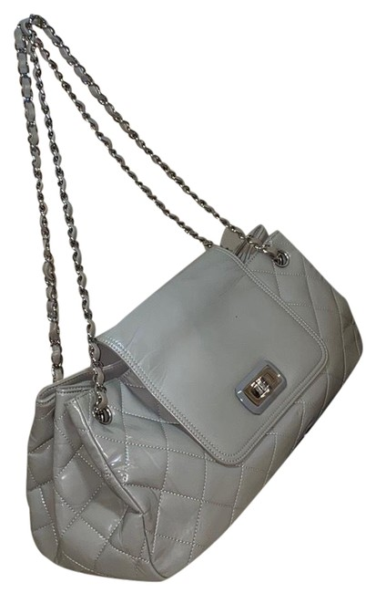 Item - Chain Bag Quilted Large Shoulder Lambskin Leather Satchel