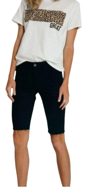 Item - Black Mile High Wash No Can Do Shorts Size 00 (XXS, 24)