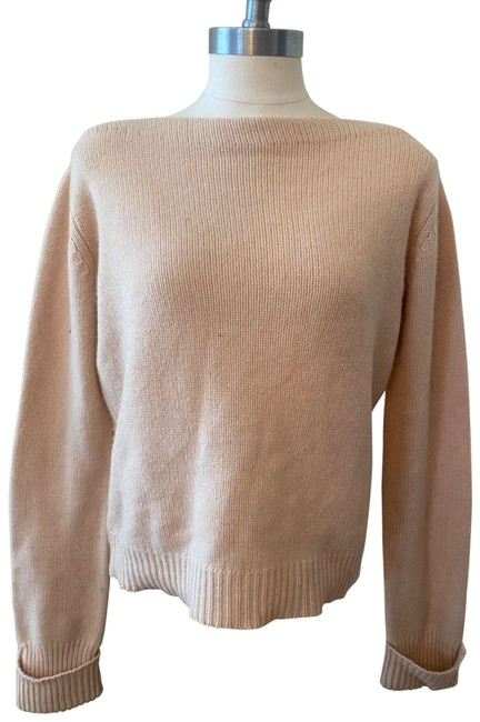 Item - Boatneck Cashmere Ivory Sweater