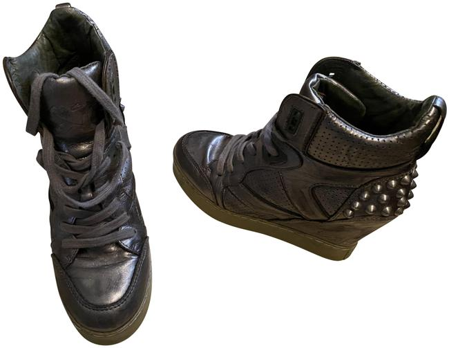 Item - Pewter Limited Edition Wedge Sneakers Size EU 37 (Approx. US 7) Regular (M, B)