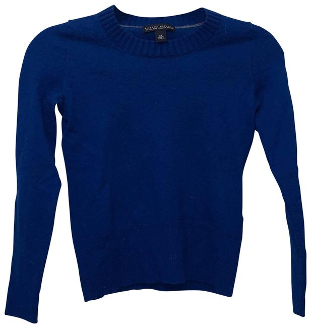 Item - Fine Italian Merino Blue Sweater