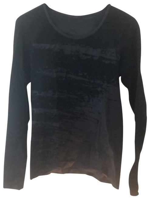 Item - Black and Gray Activewear Top Size 8 (M)