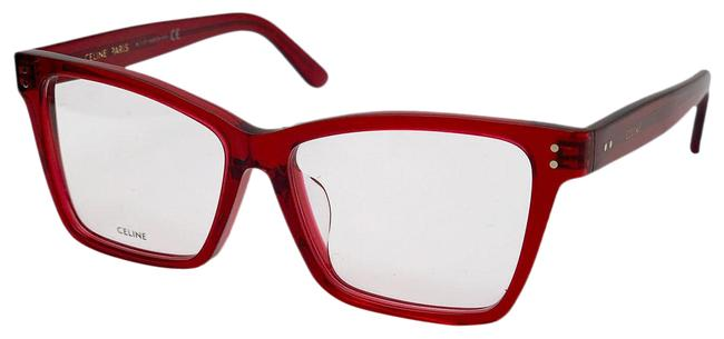 Item - Shiny Red / Clear Lens New Cl50023f 069 Women Sunglasses