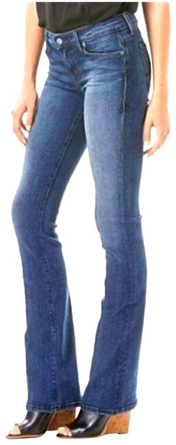Item - Blue Chloe Petite Boot Cut Jeans Size 27 (4, S)