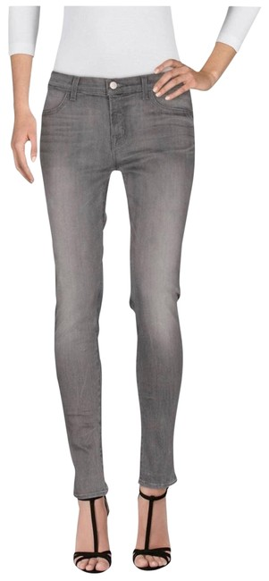 Item - Gray Acid Women's Indio Skinny Jeans Size 27 (4, S)