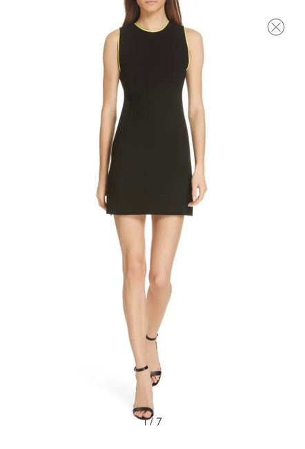 Item - Black with Subtle Green Accents Clyde A-line 5795622 Short Cocktail Dress Size 4 (S)