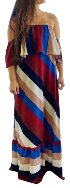 Item - Strapless Long Casual Maxi Dress Size 6 (S)