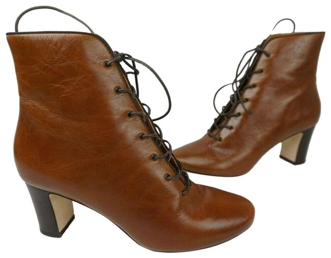 Item - Brown Vienna Leather Ankle Women's Boots/Booties Size US 9.5 Regular (M, B)