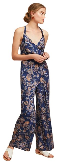 Item - Blue Paisley Romper/Jumpsuit