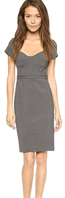 Item - Gray Dvf Fitted Career Work/Office Dress Size 2 (XS)