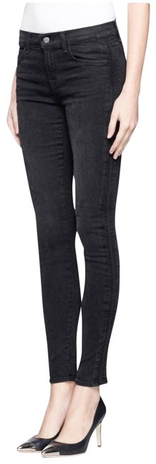 Item - Black Coated Photo Ready Liberty Graphite Skinny Jeans Size 28 (4, S)
