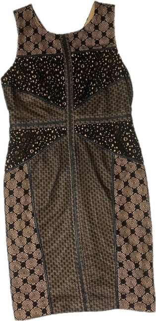 Item - Black Heirloom Embroidered Lace Sheath Short Night Out Dress Size 8 (M)