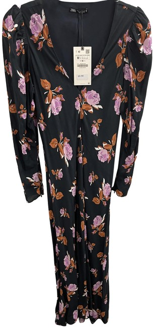 Item - Multicolor Floral Long Casual Maxi Dress Size 8 (M)