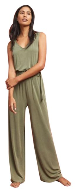 Item - Army Green Saturday Sunday Peregrinate Belted Loose Romper/Jumpsuit