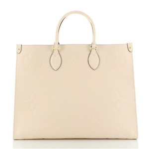 Item - Onthego Limited Edition Monogram Empreinte Giant Gm Neutral Leather Tote