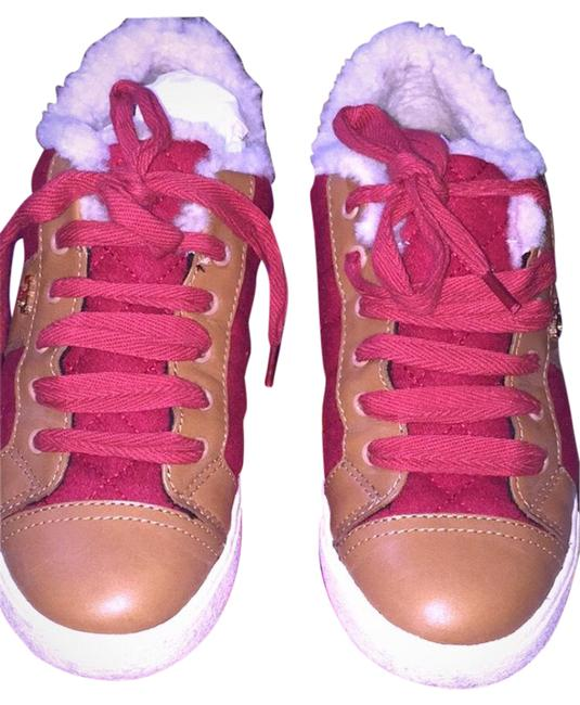 Item - Red Tan Creme Oliver Sneakers Size EU 39.5 (Approx. US 9.5) Regular (M, B)