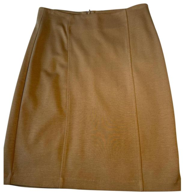 Item - Tan XS Camel Colored Pencil Skirt Size 2 (XS, 26)
