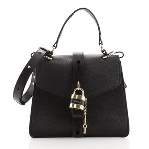 Item - Aby Day Medium Black Leather Shoulder Bag