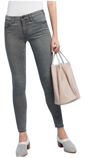 Item - Gray Mid Rise Skinny Jeans Size 25 (2, XS)