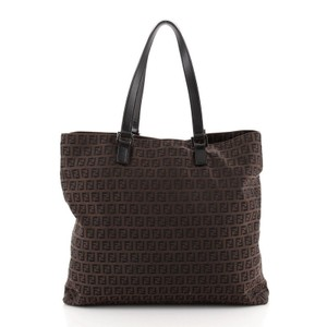 Item - Shopping Vintage Zucchino Large Brown Canvas Plain Tote