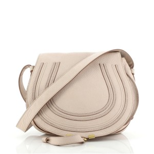 Item - Marcie Medium Pink Leather Cross Body Bag