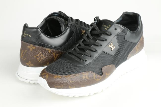 Item - Black/Brown Run Away Sneakers Shoes