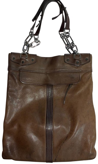 Item - Shopper Tote Brown Leather Shoulder Bag
