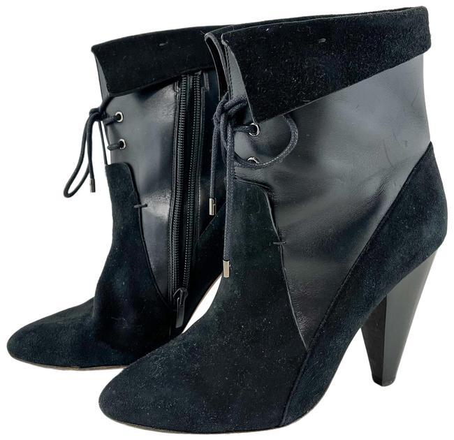 Item - Black Hawthorne Suede Ankle Boots/Booties Size US 7 Regular (M, B)