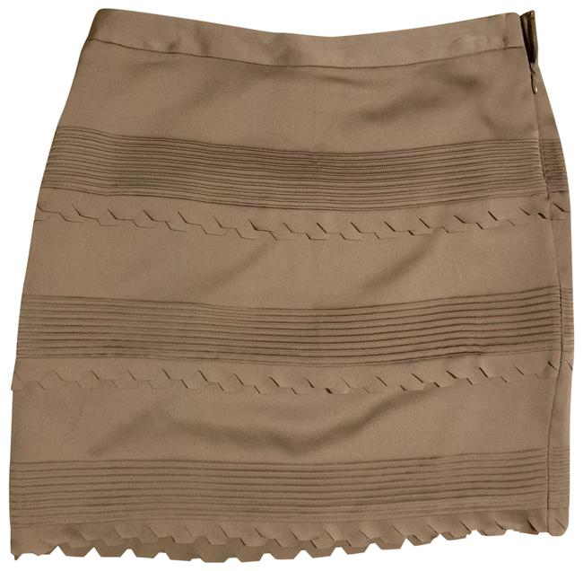Item - Taupe Beige Tiered Women Skirt Size 4 (S, 27)