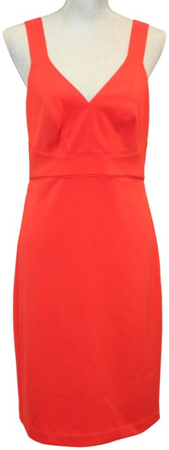 Item - Red Adjustable Strap Sleeveless Fitted Short Night Out Dress Size 8 (M)