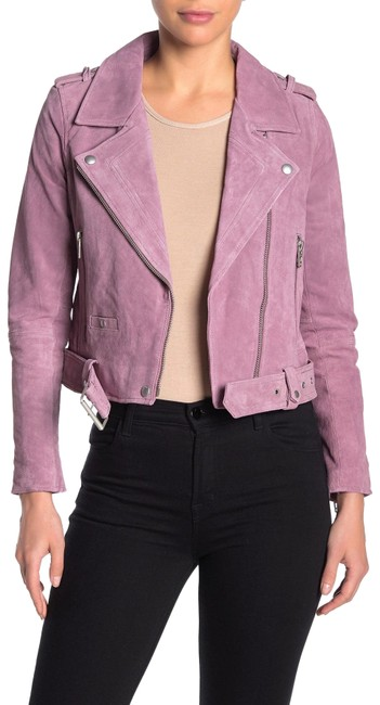 Item - Lilac Morning Suede Moto Jacket Size 2 (XS)