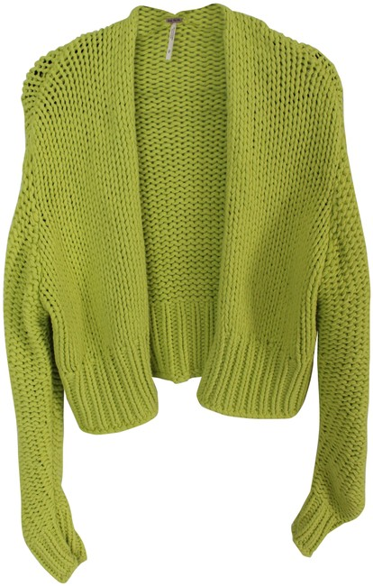 Item - Lime Citron Chunky Cardigan Size 4 (S)