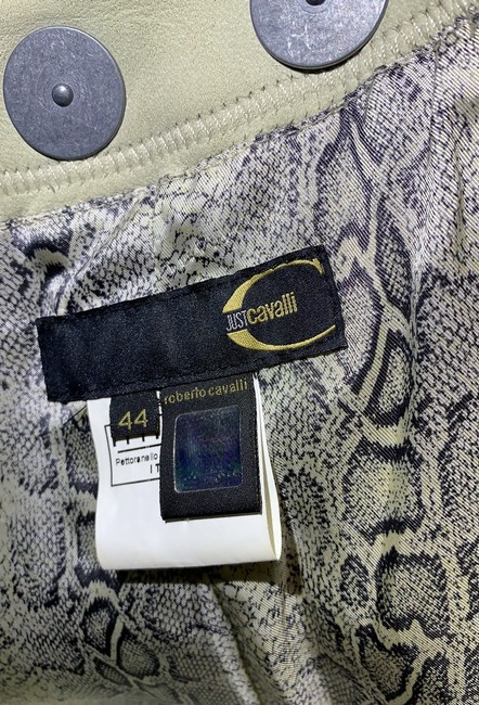 Just Cavalli Cream and Yellow Vintage Jacket Size 8 (M) Just Cavalli Cream and Yellow Vintage Jacket Size 8 (M) Image 9