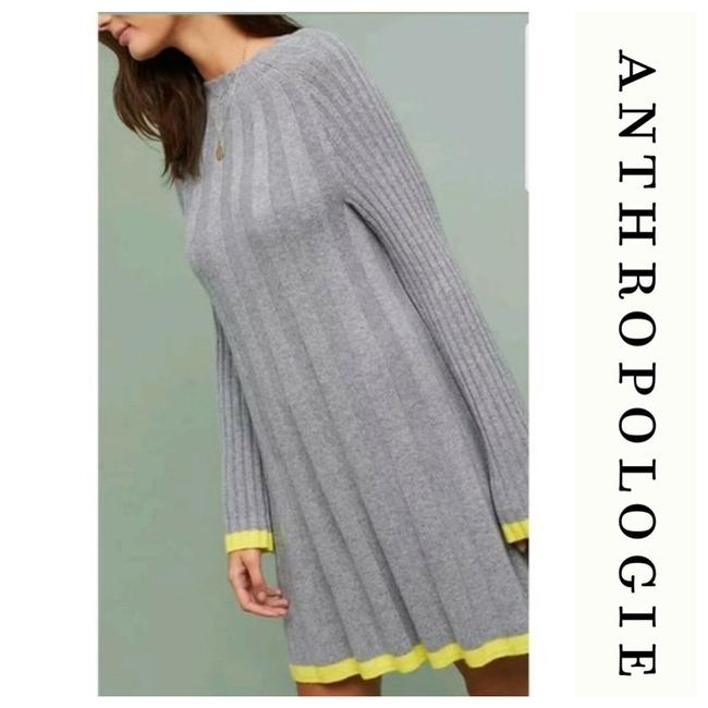 Item - Gray Anthropologie Sweater Small Mid-length Work/Office Dress Size 4 (S)