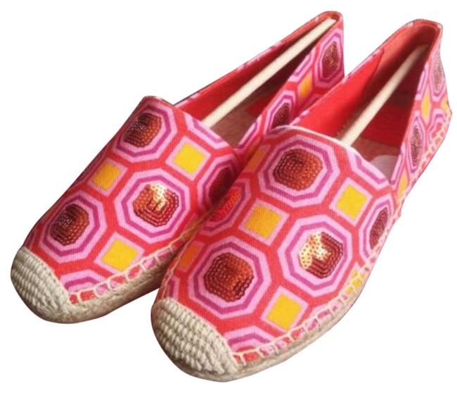 Item - Ceicily Embellished Espadrille Platforms Size US 7.5 Regular (M, B)