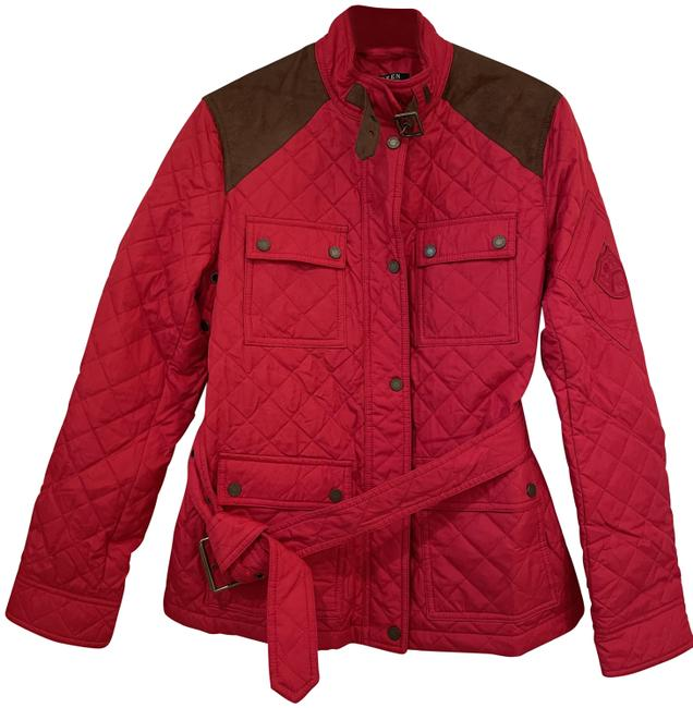 Item - Chili Petite Women's Vintage Crest-patch Quilted Jacket Size 8 (M)
