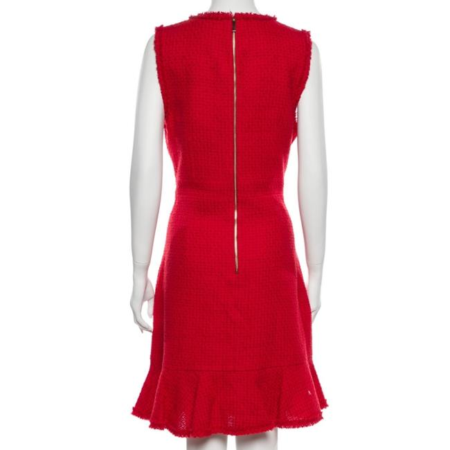Item - Red A- Line Short Night Out Dress Size 14 (L)