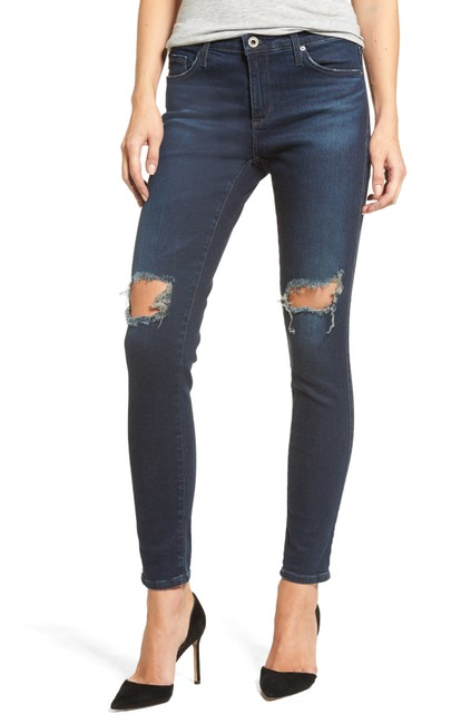 Item - Nightingale Distressed The Legging Ankle Super Skinny Jeans Size 30 (6, M)