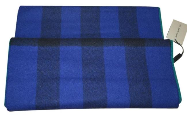 Item - Blue / Green Wool Cashmere Nova Check Snood Scarf/Wrap