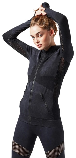 Item - Outer Space Dark Blue Gray Supernova Seamless Activewear Outerwear Size 4 (S)