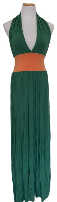 Item - Green/Orange Long Casual Maxi Dress Size 6 (S)
