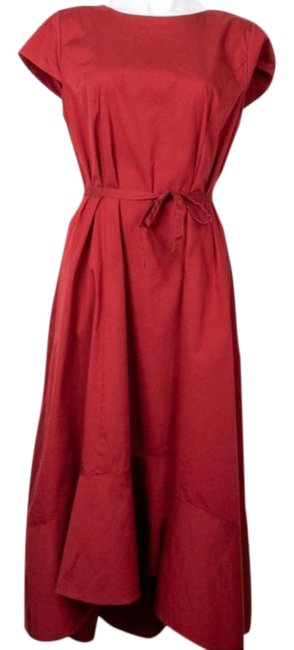Item - Red Universal Standard Collaboration Mid-length Work/Office Dress Size 6 (S)