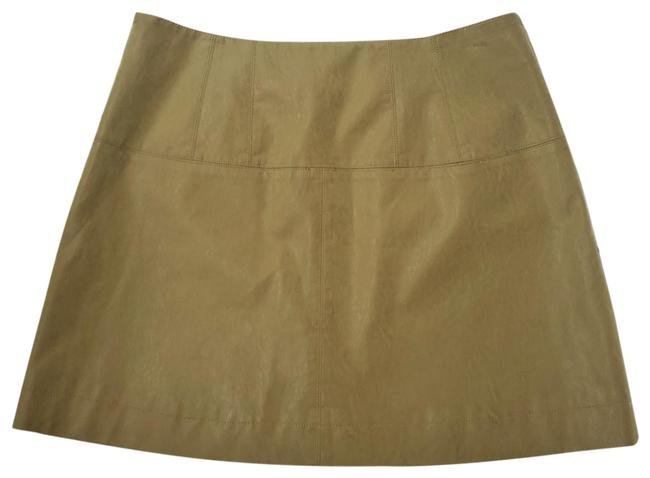 Item - Green Days In The Sun Suede Skirt Size 12 (L, 32, 33)