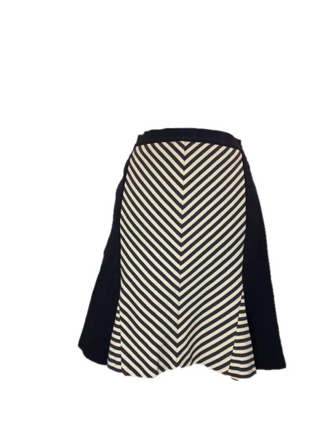 Item - Navy/White Navy/White Stripe A-line Skirt Size 4 (S, 27)