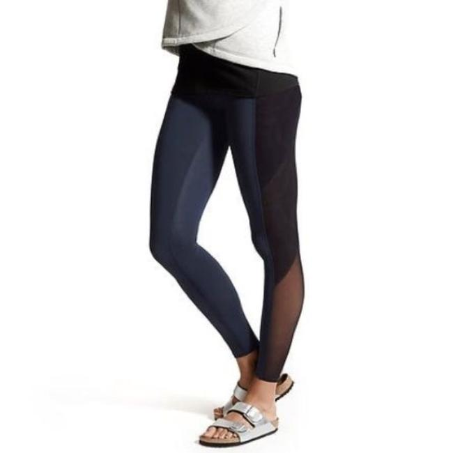 Item - Blue High Rise Mesh Tux Chatueanga Tight. Activewear Bottoms Size 2 (XS, 26)